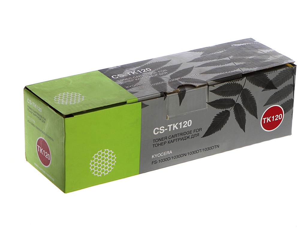 Картридж Cactus CS-TK120 Black для Kyocera FS-1030D 7200стр