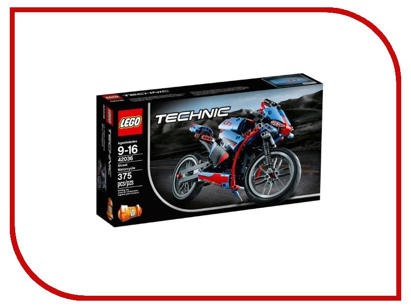 Конструктор Lego Technic Стритбайк 42036 lego technic 42031 ремонтный автокран