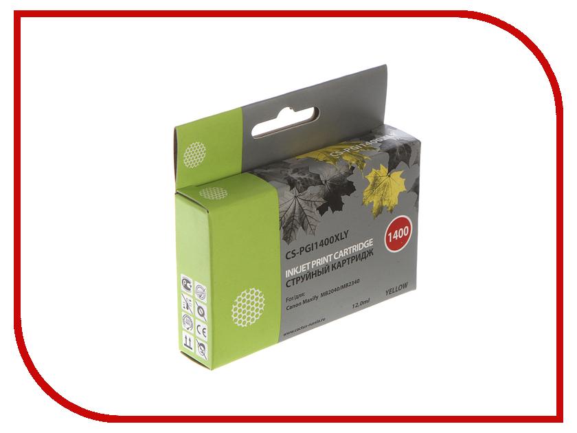 Картридж Cactus Yellow для MB2050/MB2350/MB2040/MB2340 11.5ml CS-PGI1400XLY