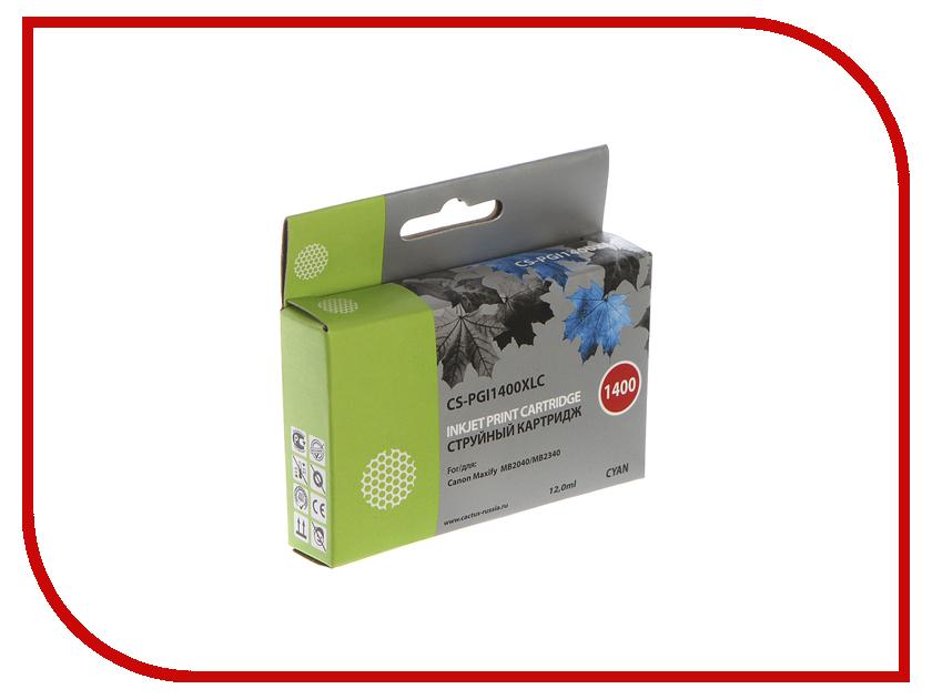 где купить Картридж Cactus Blue для MB2050/MB2350/MB2040/MB2340 11.5ml CS-PGI1400XLC по лучшей цене