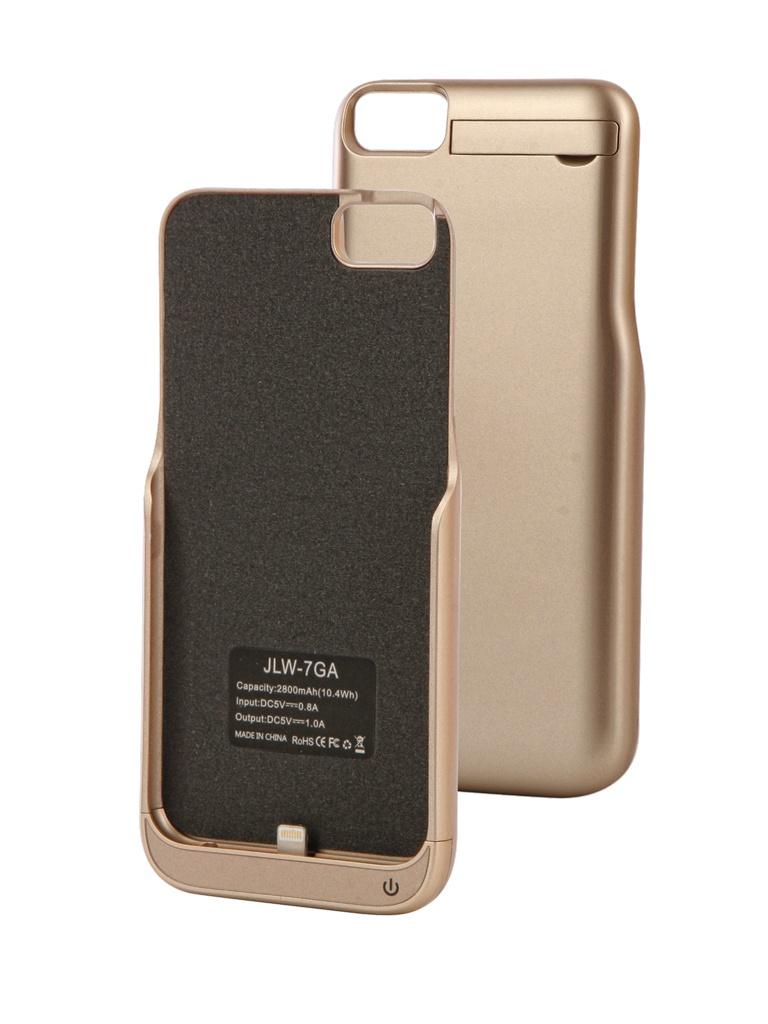 Аксессуар Чехол-аккумулятор Activ для iPhone 7 JLW 7GA 2800 mAh Gold 66002 аккумулятор activ vitality 4500mah gold 55048