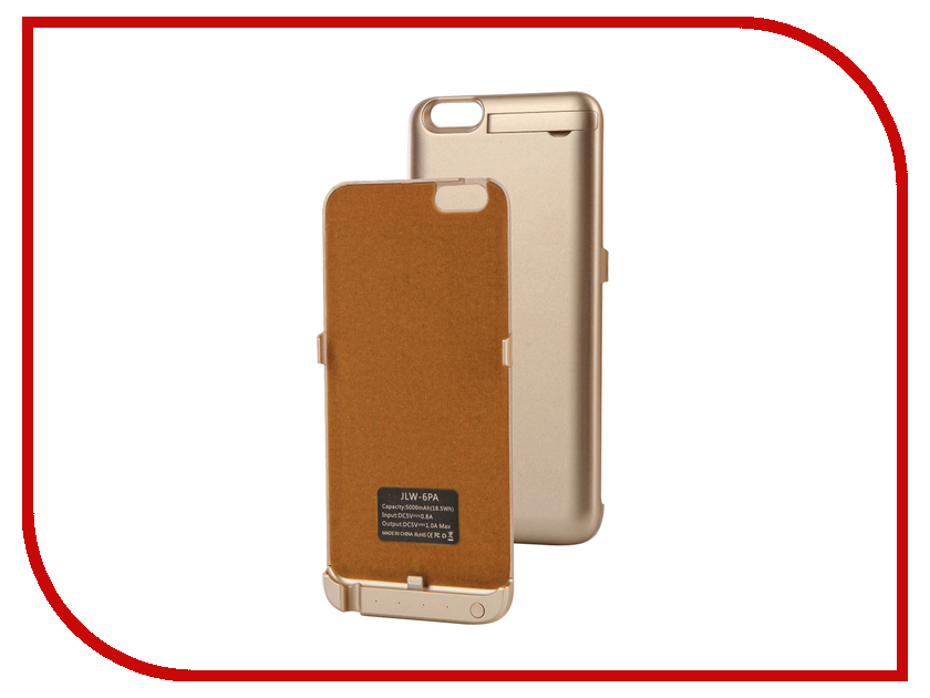все цены на  Аксессуар Чехол-аккумулятор Activ JLW PA для iPhone 6 Plus 5000 mAh Gold 66005  онлайн