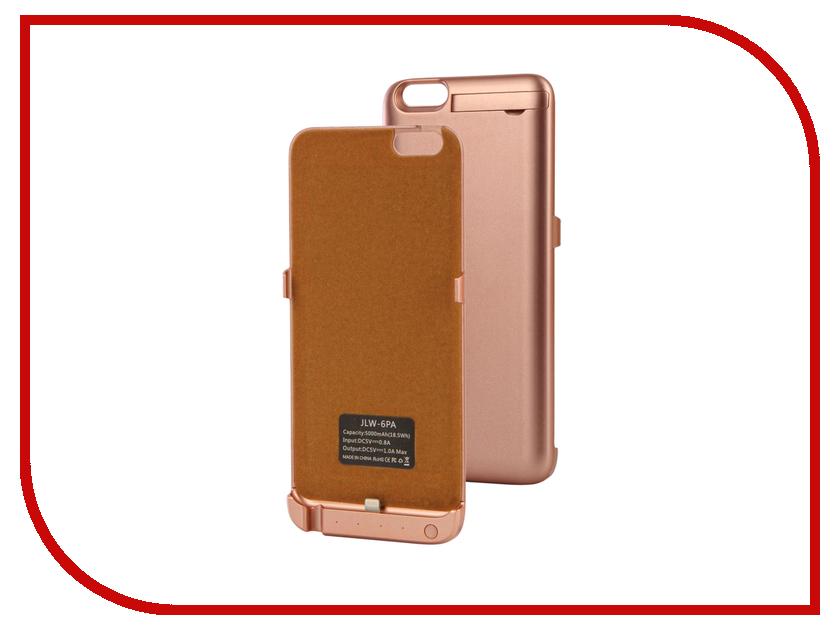 все цены на  Аксессуар Чехол-аккумулятор Activ JLW PA для iPhone 6 Plus 5000 mAh Rose-Gold 66006  онлайн