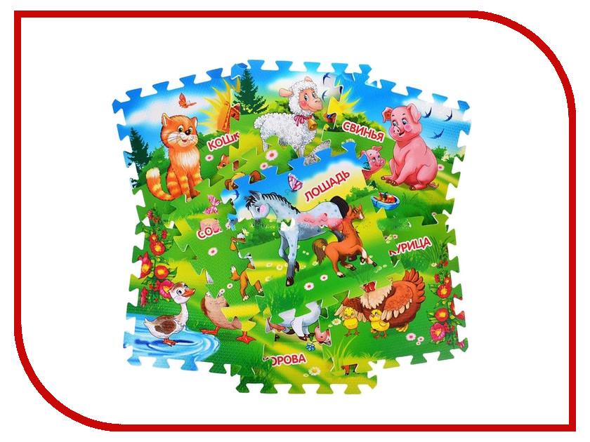 Развивающий коврик Играем вместе Домашние животные FS-FARM николай дроздов алексей макеев домашние животные книга 1