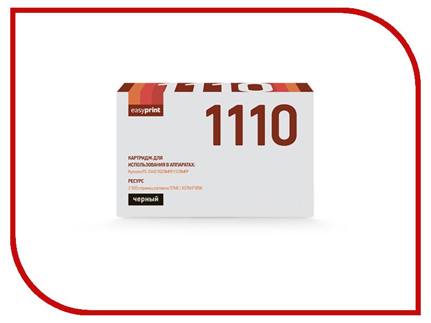 Картридж EasyPrint для FS-1040/1020MFP/1120MFP 2500к LK-1110 картридж colouring cg tk 1110 для fs 1040 1020mfp 1120mfp 2500стр