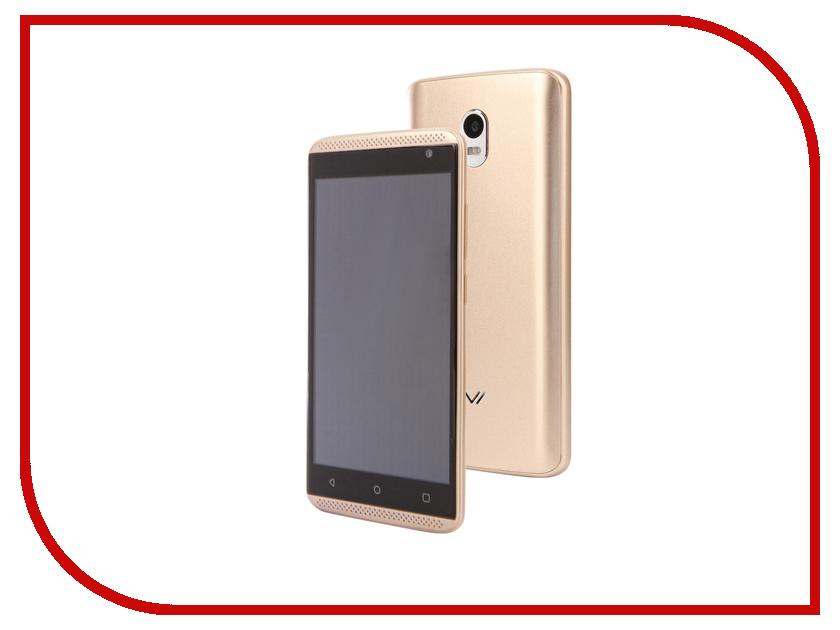 Сотовый телефон Vertex Impress Groove Gold смартфон vertex impress genius gold