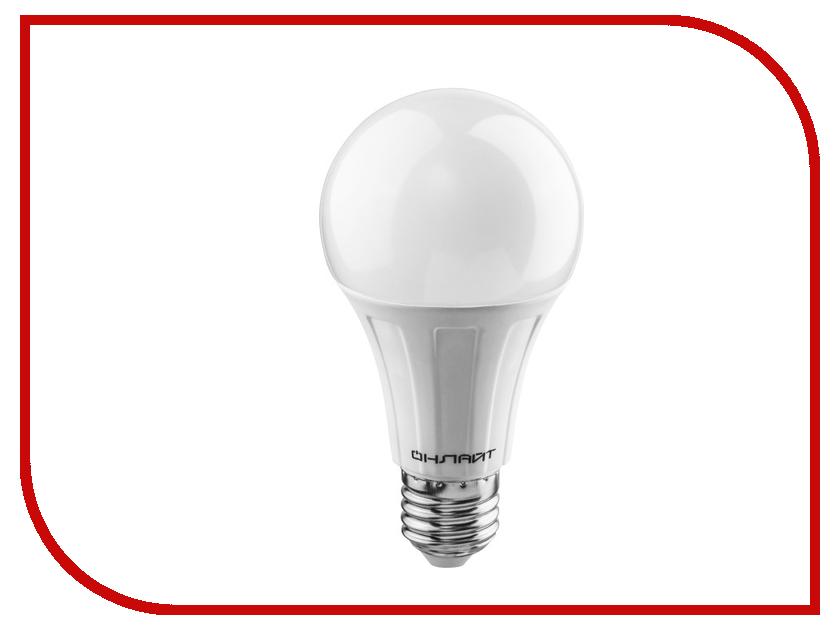 Лампочка ОнЛайт 61 158 OLL-A60-20-230-4K-E27