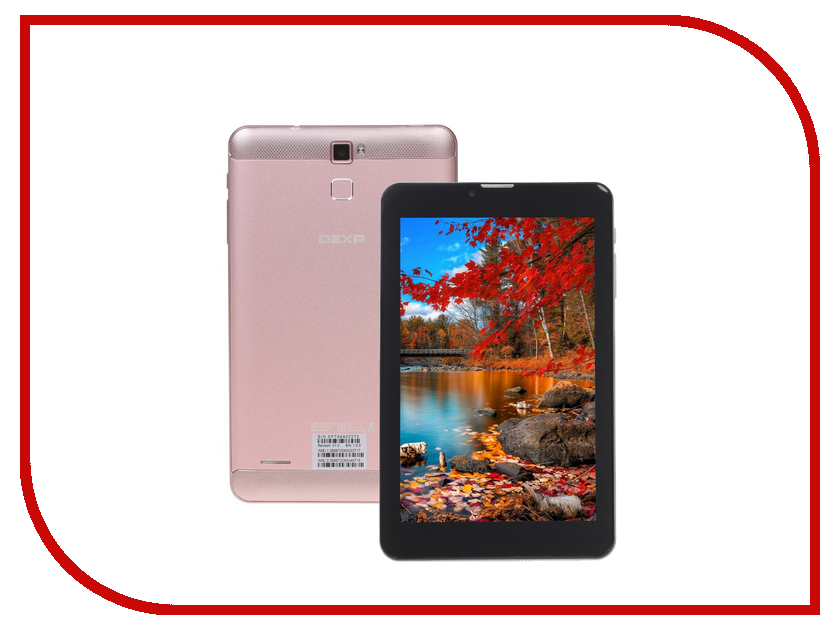 Планшет DEXP Ursus S170 Pink (Spreadtrum SC7731 1.3 GHz/1024Mb/8Gb/Wi-Fi/3G/Bluetooth/Cam/7.0/1280x800/Android) 1091776