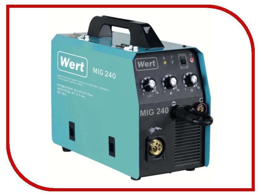 Сварочный аппарат Wert MIG 240 erh 1128hre wert