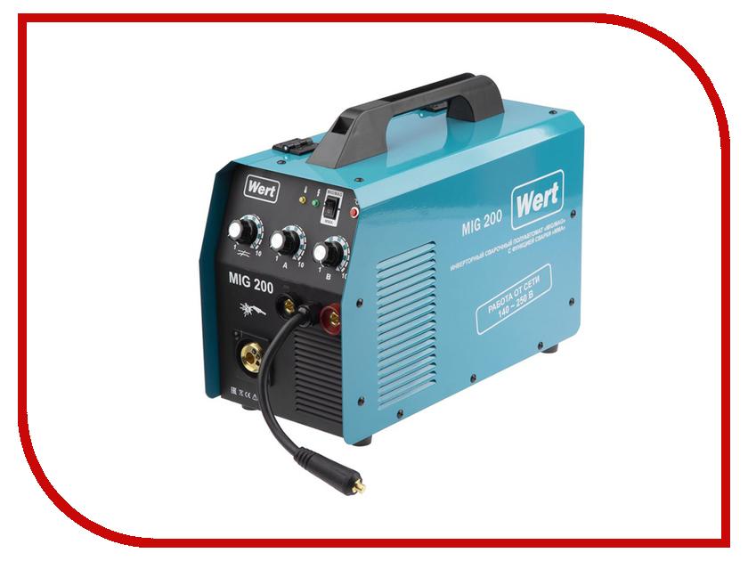 Сварочный аппарат Wert MIG 200 сварочный инвертор wert mig 200