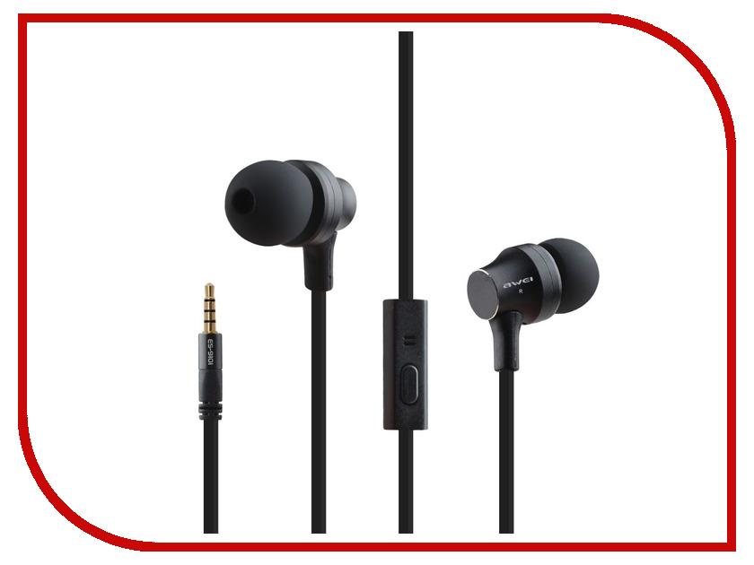 Гарнитура Awei ES-910i Black 09205