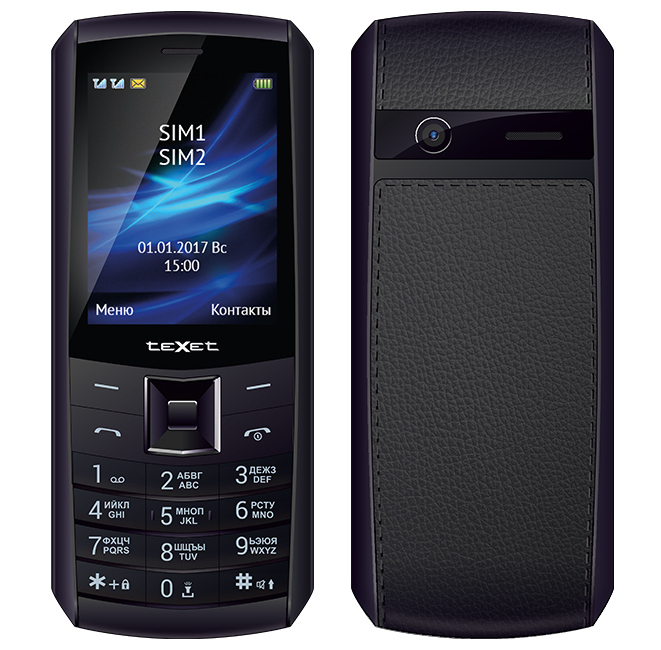 Сотовый телефон teXet TM-D328 Black texet tm d301 black silver