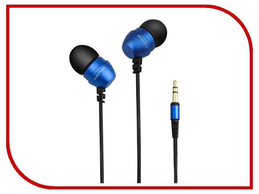 Наушники Awei ES-Q8 Blue 09215 zoom q8