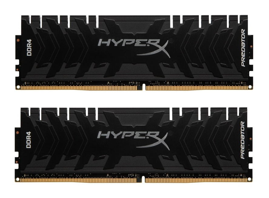 Модуль памяти Kingston HyperX Predator DDR4 DIMM 2666MHz PC4-21300 CL13 - 16Gb KIT (2x8Gb) HX426C13PB3K2/16