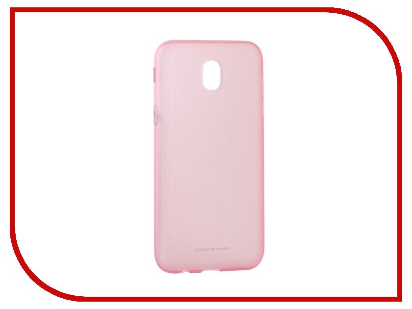 Аксессуар Чехол Samsung Galaxy J5 2017 SM-J530 Jelly Cover Pink SAM-EF-AJ530TPEGRU