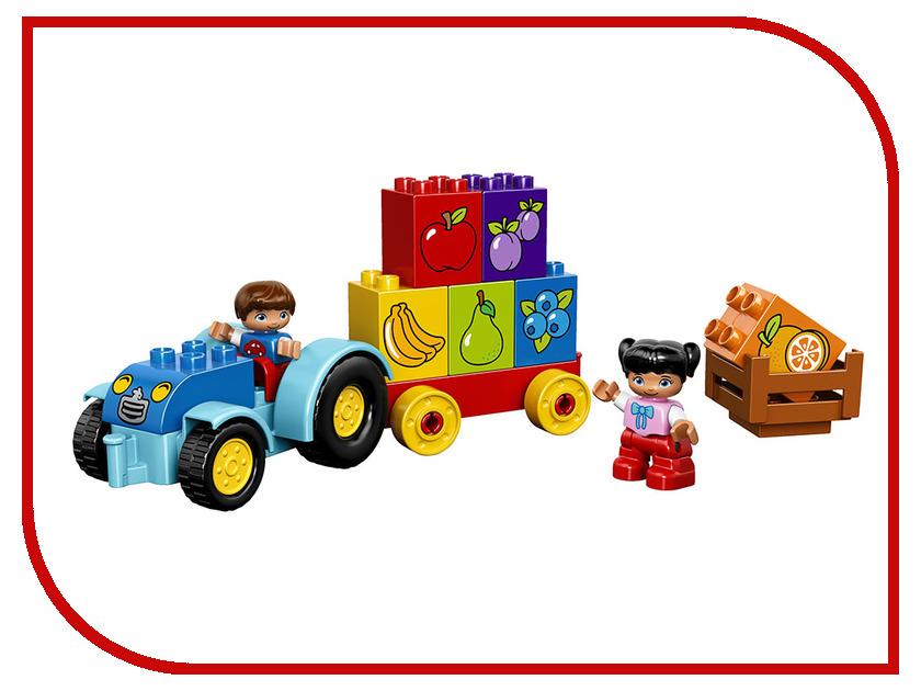 Конструктор Lego Duplo Мой первый трактор 10615 lego duplo my first конструктор мои первые домашние животные 10858