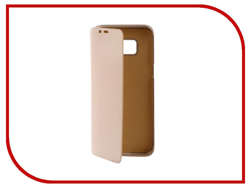 Аксессуар Чехол Samsung Galaxy S8 Ainy силиконовый боковой Gold аксессуар чехол ainy for samsung gt i8730 galaxy express