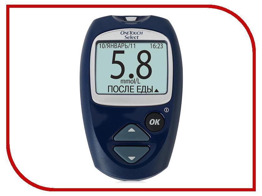 Глюкометр OneTouch Select + тест-полоски глюкометр