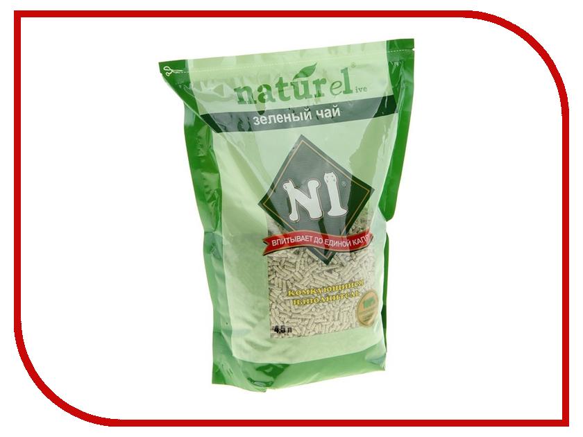 Наполнитель N1 Naturel Зеленый чай 4.5L 92401 набор josephin n1 274001
