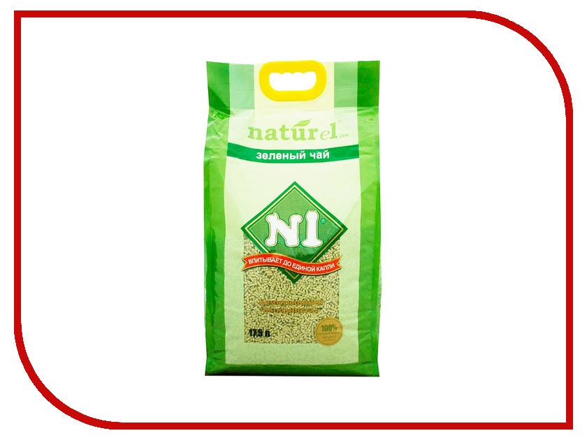Наполнитель N1 Naturel Зеленый чай 17.5L 92405 набор josephin n1 274001