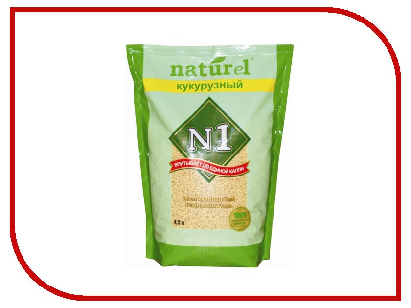 Наполнитель N1 Naturel Кукурузный 4.5L 92404 набор josephin n1 274001