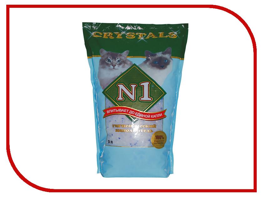 Наполнитель N1 Crystals-Силикагелевый 5L 92201 набор josephin n1 274001