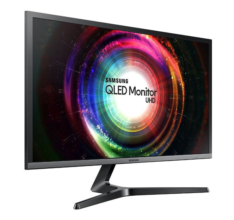 Монитор Samsung U28H750UQI Black