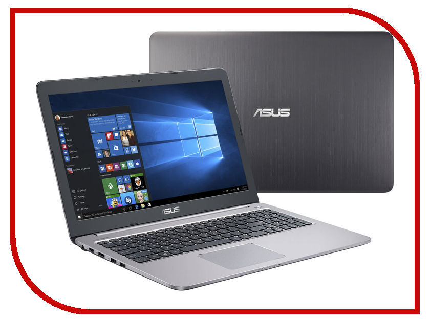 Ноутбук ASUS K501UW-DM026T Special Model 90NB0BQ2-M00700 (Intel Core i5-6200U 2.3 GHz/8192Mb/1000Gb + 128Gb SSD/No ODD/nVidia GeForce GTX 960M 2048Mb/Wi-Fi/Cam/15.6/1920x1080/Windows 10 64-bit) ноутбук msi gp72 7rdx 484ru 9s7 1799b3 484 intel core i7 7700hq 2 8 ghz 8192mb 1000gb dvd rw nvidia geforce gtx 1050 2048mb wi fi bluetooth cam 17 3 1920x1080 windows 10 64 bit