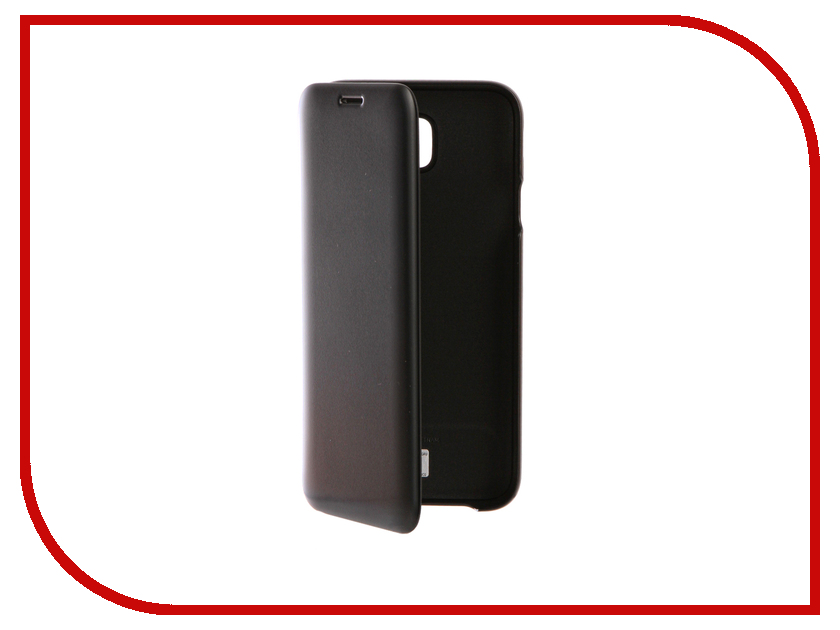 Аксессуар Чехол Samsung Galaxy J7 2017 SM-J730F Wallet Cover Black EF-WJ730CBEGRU аксессуар чехол для samsung galaxy j7 2017 j730f innovation silicone black 10682