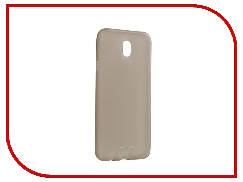 Аксессуар Чехол Samsung Galaxy J7 2017 SM-J730F Jelly Cover Gold EF-AJ730TFEGRU аксессуар чехол samsung galaxy j7 2017 sm j730f wallet cover gold ef wj730cfegru