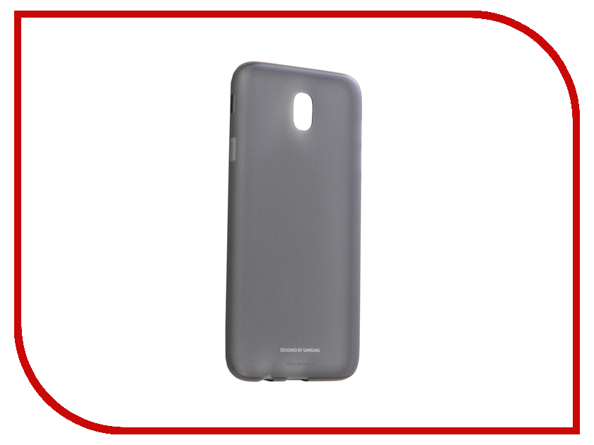Аксессуар Чехол Samsung Galaxy J7 2017 SM-J730F Jelly Cover Black EF-AJ730TBEGRU