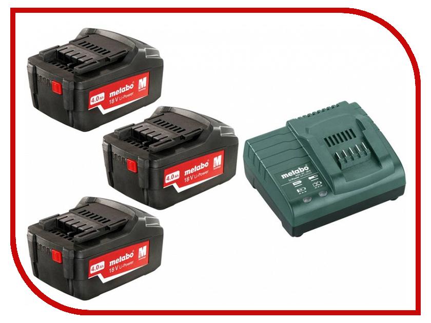 Аккумулятор Metabo Basic-Set 4.0 685049000