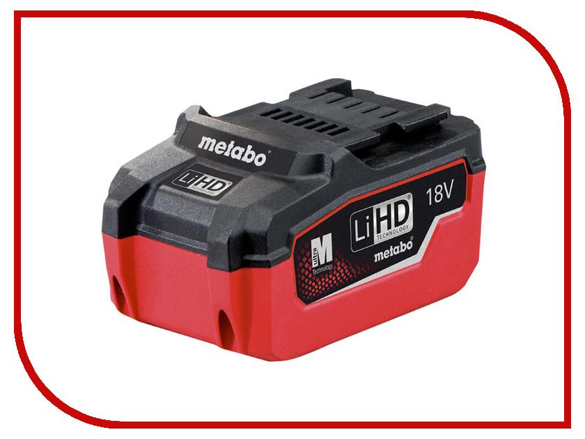 Аккумулятор Metabo LiHD 18V 6.2Ah 625341000<br>