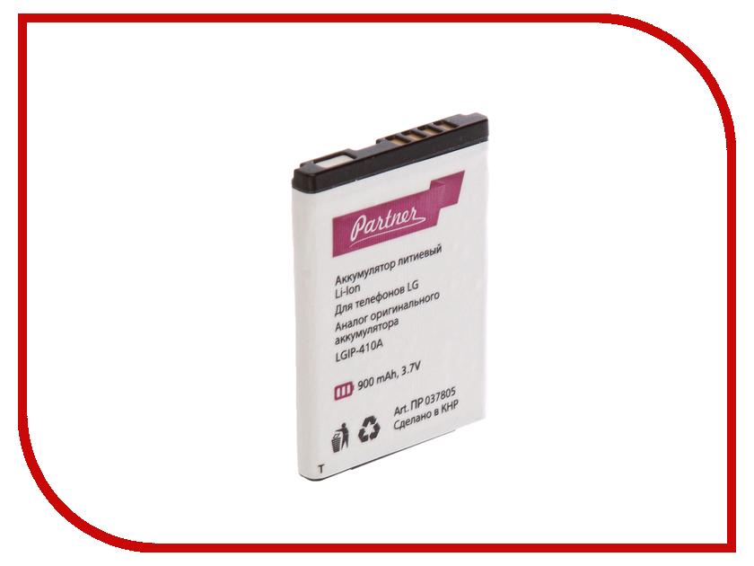 Аксессуар Аккумулятор LG KE770 Shine LGIP-410A Partner 900mAh ПР037805 lgip 340n
