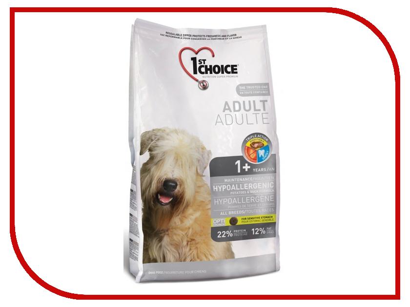Корм 1st Choice Утка картофель 6kg для собак гипоаллергенный 102.324 картофель для варки