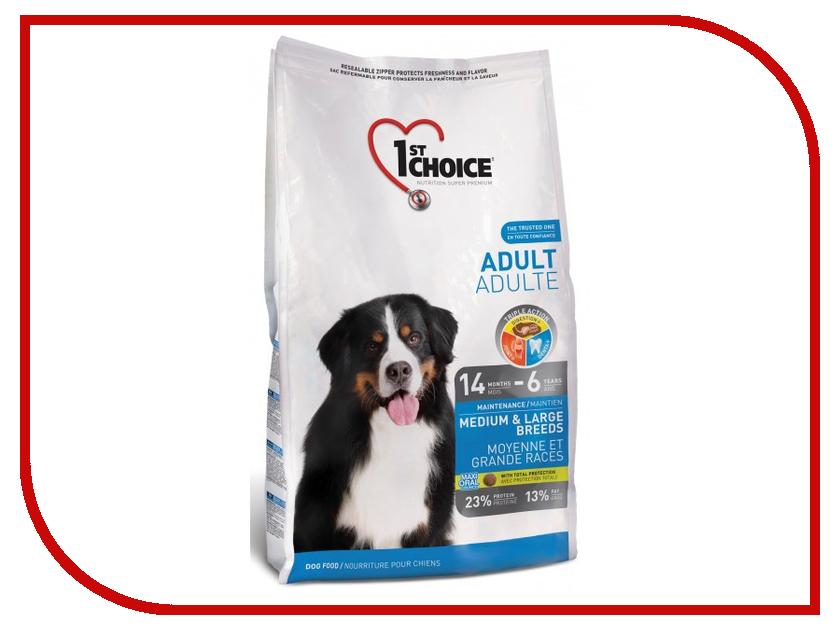 Корм 1st Choice Курица 7kg для собак средних и крупных пород 102.316 корм сухой 1st choice для щенков средних и крупных пород курица 15 кг