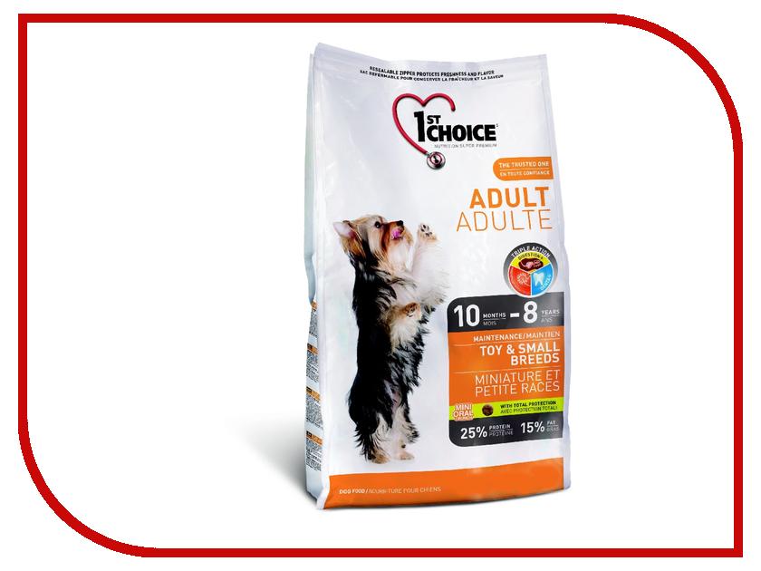 Корм 1st Choice Курица 2.72kg для миниатюрных и мелких пород 102.314 корм сухой 1st choice для щенков средних и крупных пород курица 15 кг