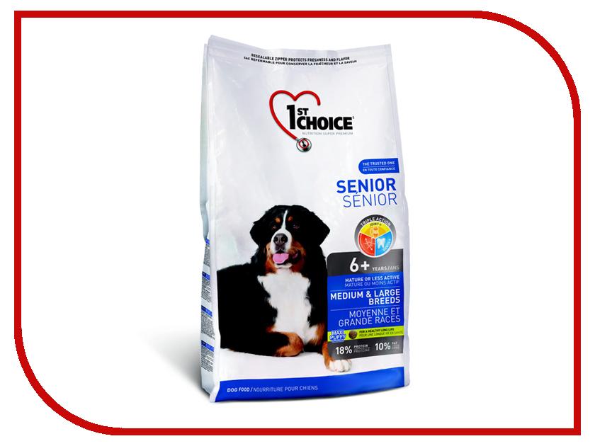 Корм 1st Choice Курица 7kg для пожилых собак средних и крупных пород 102.329 корм сухой 1st choice для щенков средних и крупных пород курица 15 кг