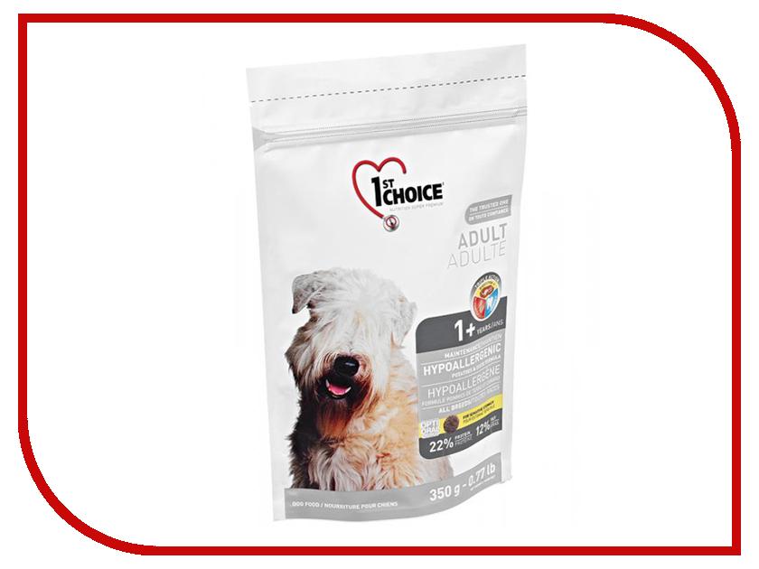Корм 1st Choice Утка с картофелем 350g для собак гипоаллергенный 102.322 корм 1st choice утка с картофелем 2 72kg для собак гипоаллергенный 102 323