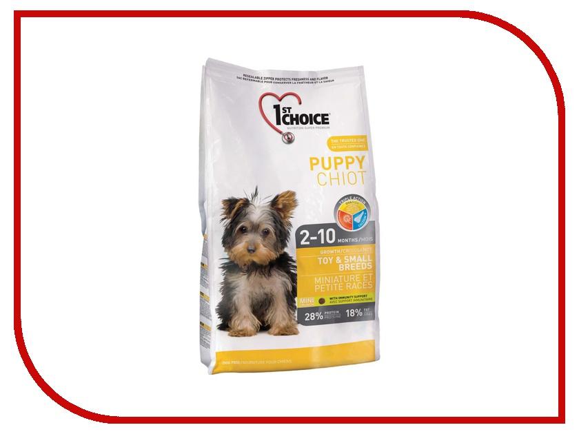 Корм 1st Choice Цыплёнок 7kg для щенков миниатюрных и мелких пород 102.303а корм 1st choice утка картофель 12kg для собак гипоаллергенный 102 325