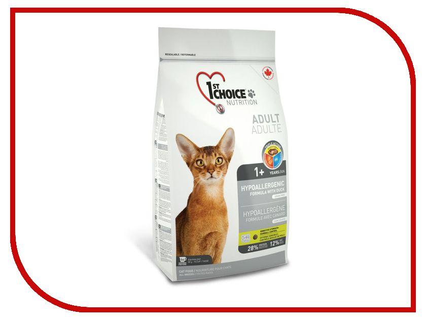Корм 1st Choice Утка с картофелем 2.72kg для кошек гипоаллергенный без зерна 102.1.251
