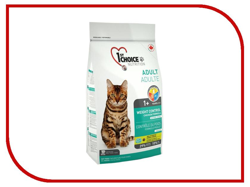 Корм 1st Choice Курица 5.44kg Контроль Веса для кастрированных и стерилизованных кошек 102.1.262