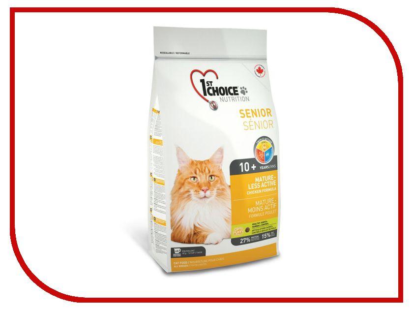 Корм 1st Choice Mature or Less Active Цыпленок 5.44kg для кошек 102.1.272