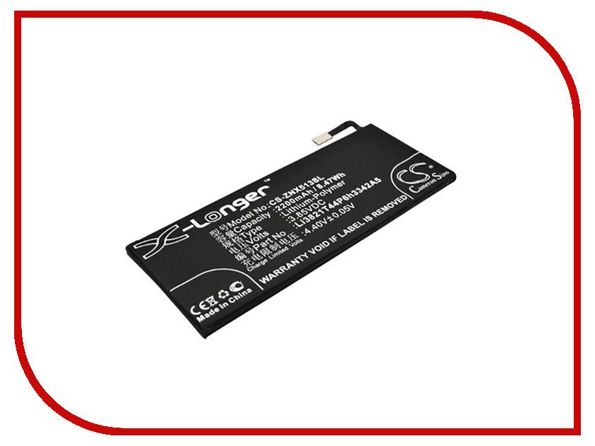 Аккумулятор Partner для ZTE Blade A476 2200mAh Li3821T44P6h3342A5 ПР037844 t a t u t a t u 200 km h in the wrong lane 10th anniversary edition cd