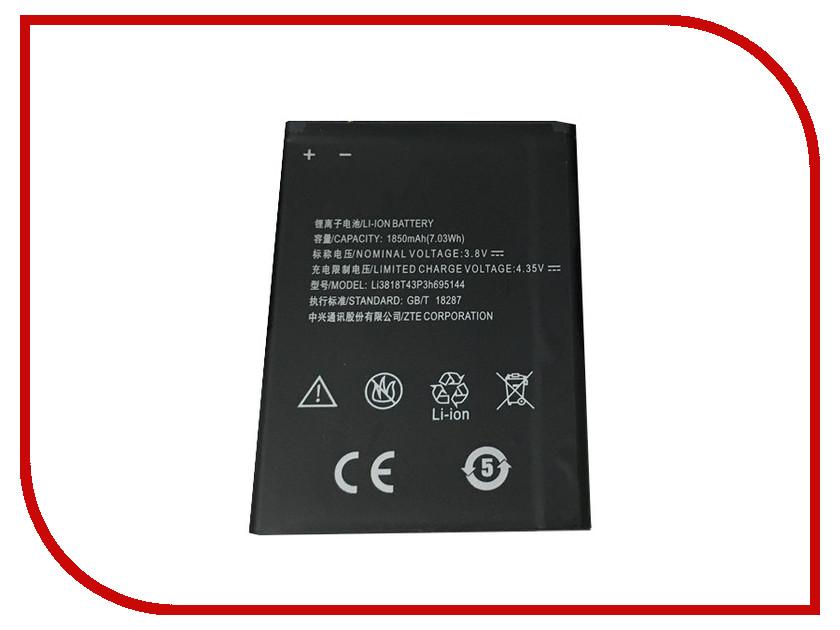 Аккумулятор Partner для ZTE V830 Blade G Lux 1700mAh Li3818T43P3h695144 ПР037842