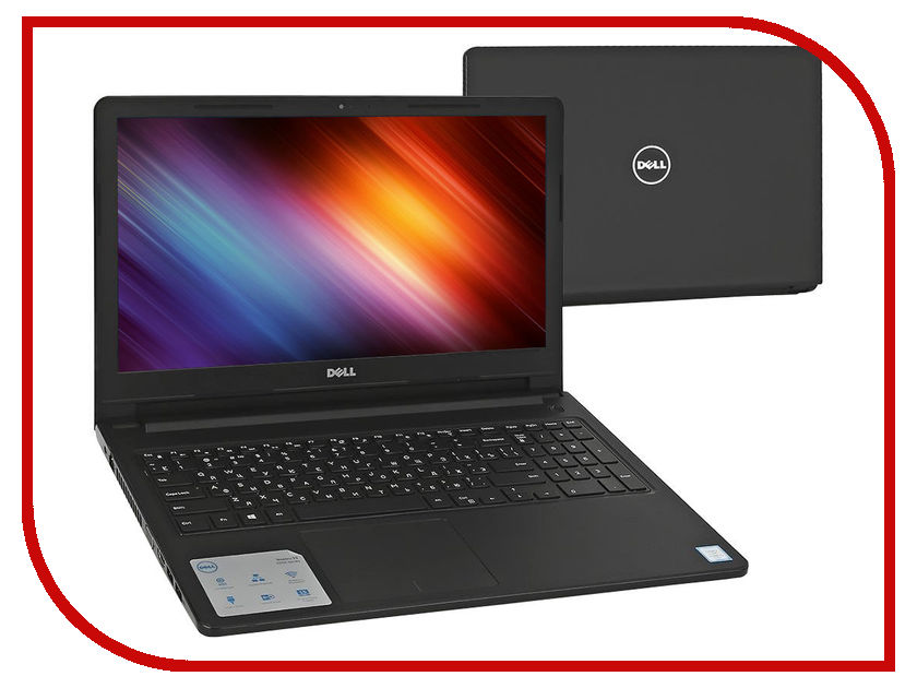 Ноутбук Dell Vostro 3568 3568-9361 (Intel Core i3-6006U 2.0 GHz / 4096Mb / 1000Gb / AMD Radeon R5 M420X 2048Mb / Wi-Fi / Bluetooth / Cam / 15.6 / 1366x768 / Linux)