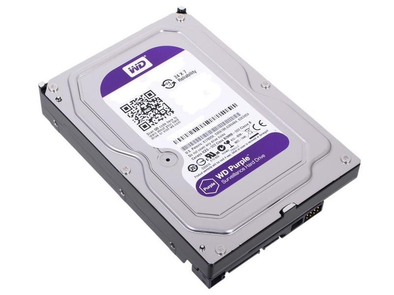 Жесткий диск 2Tb - Western Digital Purple WD20PURZ жесткий диск 8tb western digital purple wd80puzx