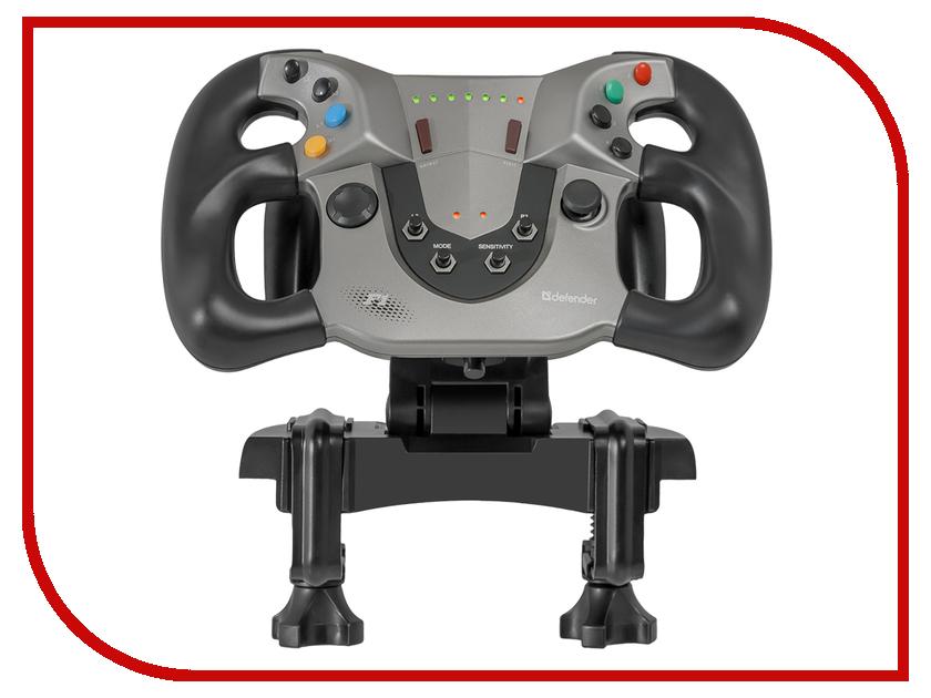 купить Игровой руль Defender Forsage Sport USB-PS3 64372 онлайн