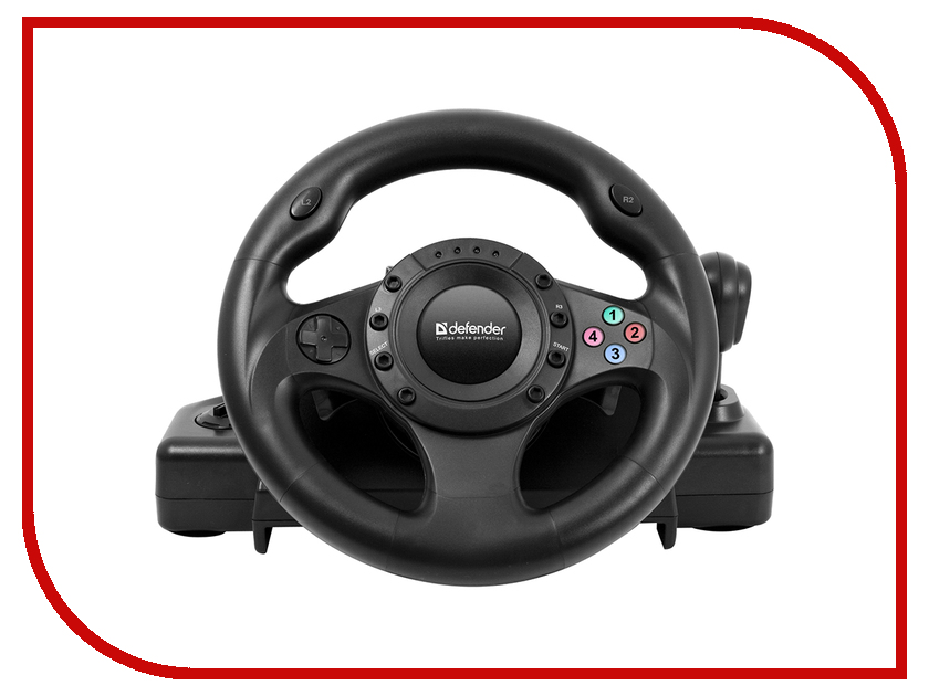 Руль Defender Forsage Drift GT USB-PS3 64370 набор инструмента forsage 51092r