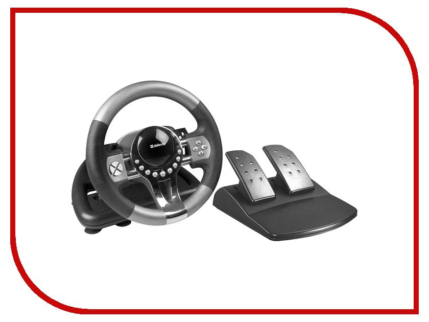 купить Игровой руль Defender Forsage GTR USB 64367 онлайн
